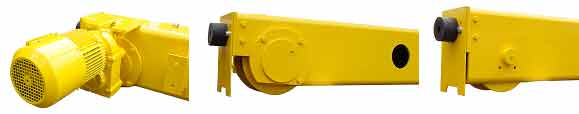 CraneVeyor TSR Series-Top Riding Single Girder-Rotating Axle